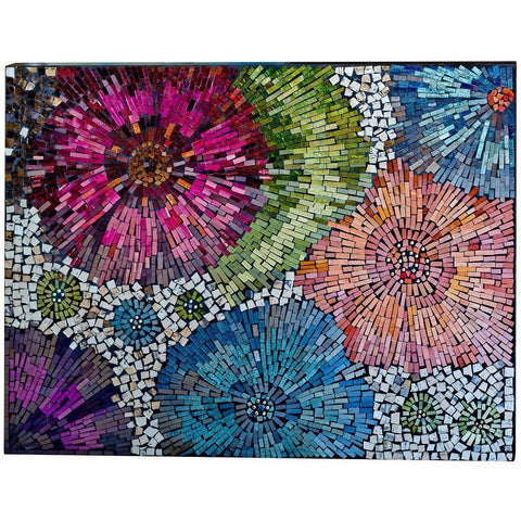 Mosaic Glass Wall Art-Wall Art-Retail Therapy Interiors