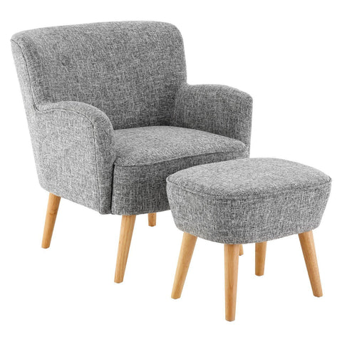 Odense Armchair with Ottoman-Furniture-Retail Therapy Interiors