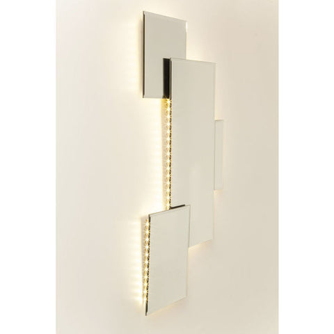 Pebble Squares Mirror with LEDs-Mirrors-Retail Therapy Interiors