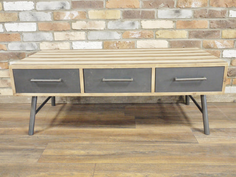 Striped Coffee Table-Furniture-Retail Therapy Interiors