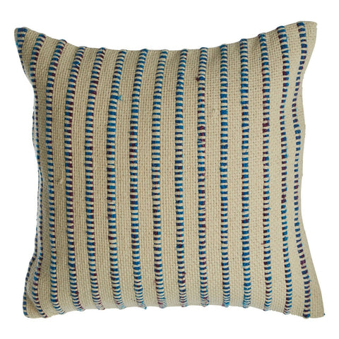 Woven Stripe Cushion-Soft Furnishings-Retail Therapy Interiors