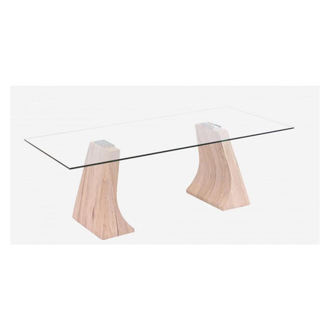 Yogi Glass Coffee Table Natural-Furniture-Retail Therapy Interiors