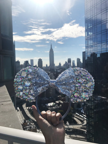 Sparkle Mouse Ears Disney Minnie Mouse Wicked Ears