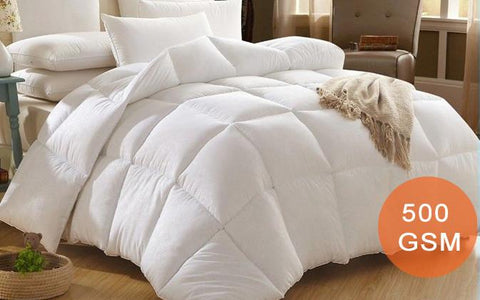 Home & Garden,Home Deco,Bedding & Manchester,Essentials - Duck Feather Down Quilt - 500GSM