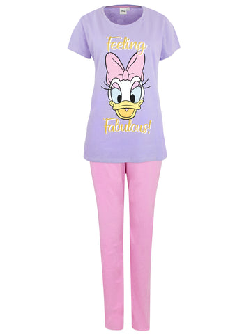 Womens Daisy Duck Pyjama Set