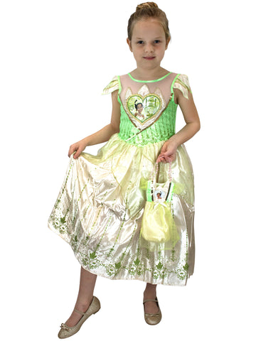 Disney The Princess and The Frog Fancy Dress with Bag - Tiana
