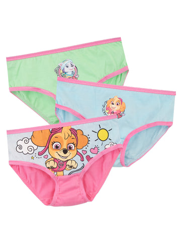 Girls Paw Patrol Underwear Pack of 3