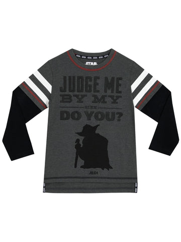 Star Wars Long Sleeve Top - Yoda
