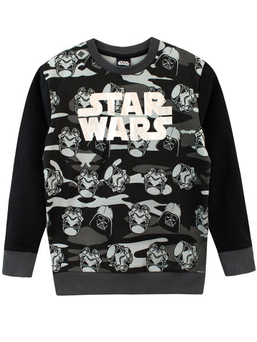 Star Wars Sweatshirt - Darth Vader and Stormtroopers