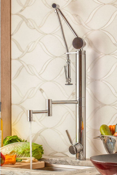 Gantry Pulldown Waterstone Faucet | Contemporary