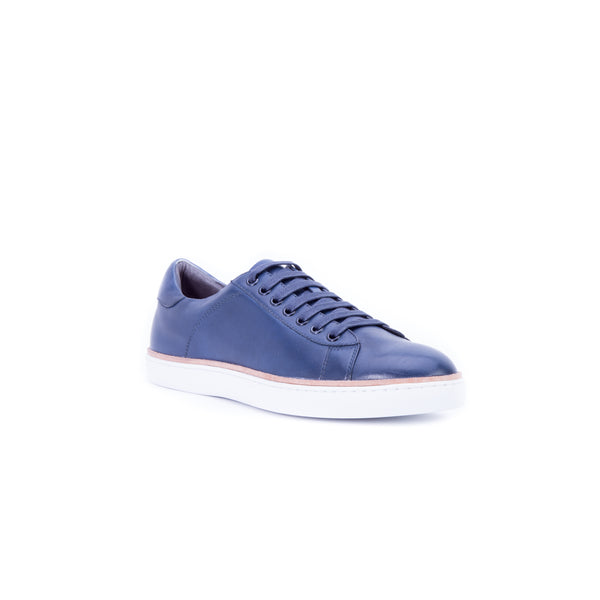 English Laundry Juniper Leather Sneaker, Navy