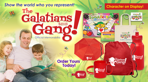 More Galatians Gang™ Products!