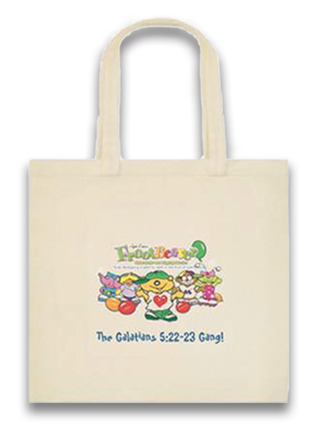 The Galatians 5:22-23 Gang!™ Canvas Tote Bag