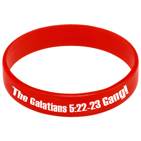 The Galatians 5:22-23 Gang!™ Silicone Bracelet (20-pack)