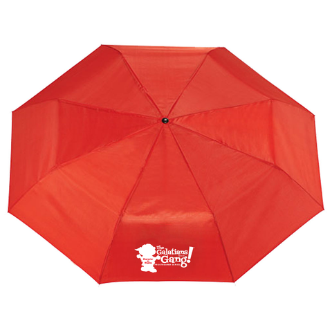 The Galatians 5:22-23 Gang™ 41-inch Folding Umbrella