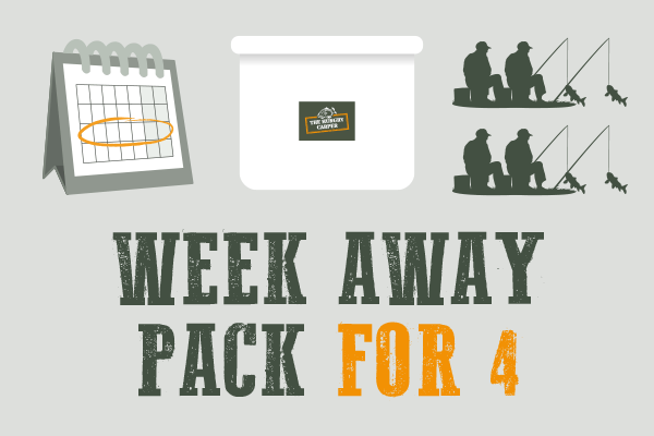 Week Away Pack for 4