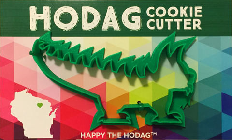 Hodag cookie cutter