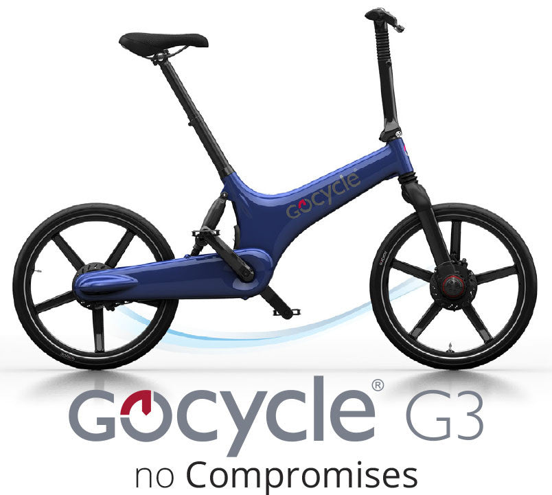 Gocycle G3 - the electric bike that folds into a suitcase