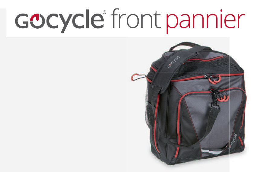 Gocycle G3 Pannier - for a pop to the shops and more!