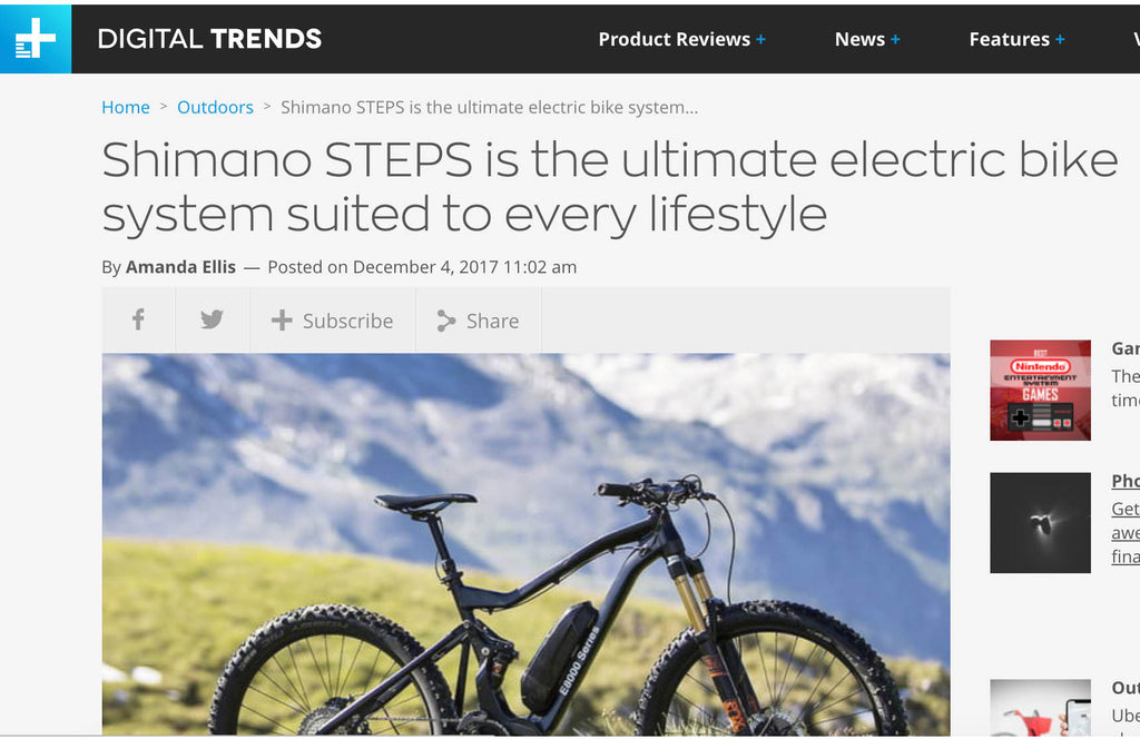 Shimano STEPS is the ultimate electric bike system suited to every lifestyle