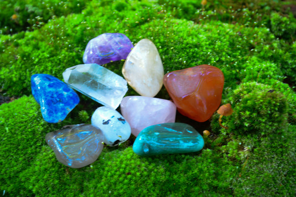 Basic Crystal Starter Set~For Starting Your Journey - Wild Witchery