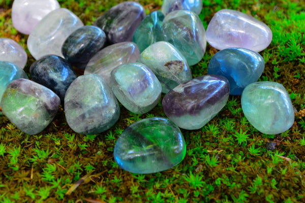 Rainbow Fluorite~ For Protection, Clarity & Calm - Wild Witchery