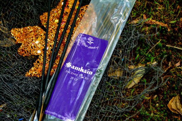 Samhain Incense~For Spirit Communication - Wild Witchery