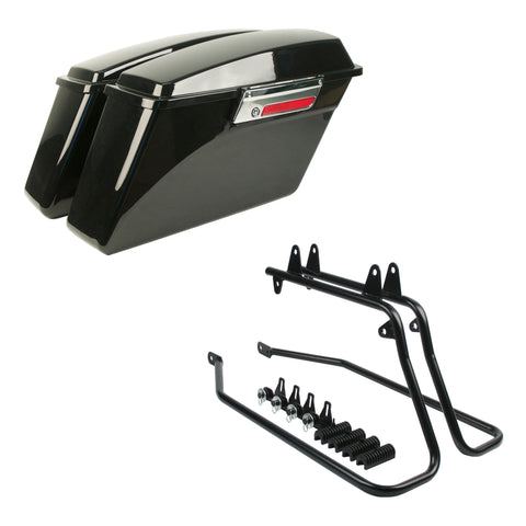 Standard Size Saddlebags For Harley Softail Models (Standard, Deluxe, Heritage, Fat Boy)
