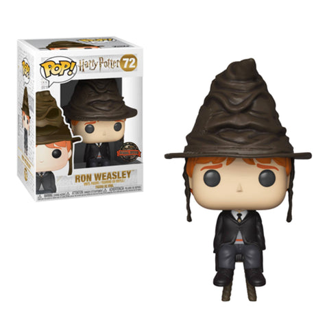 POP Harry Potter S5 - Ron w/Sorting Hat