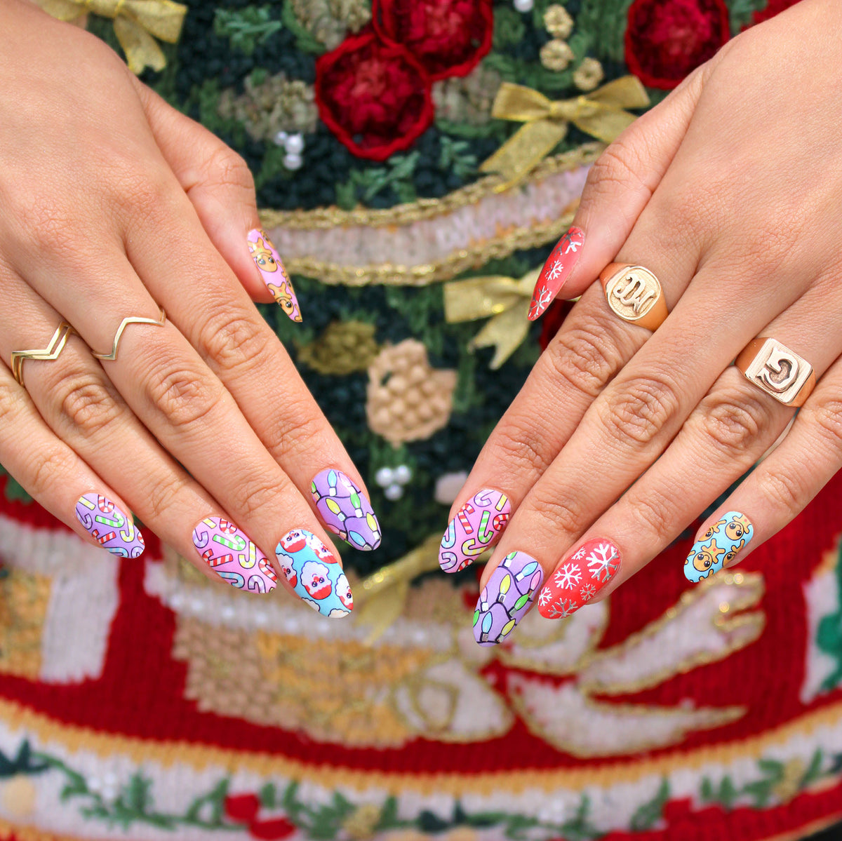 Get Your Christmas On Nail Wraps