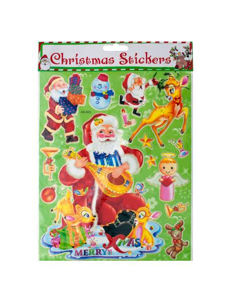 Christmas Stickers (Available in a pack of 24)