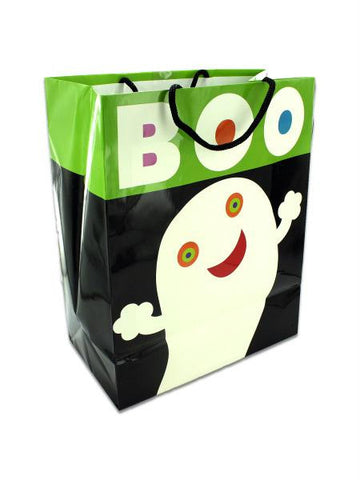 """Boo!"" glow in the dark gift bag (Available in a pack of 18) - Blobimports.com"