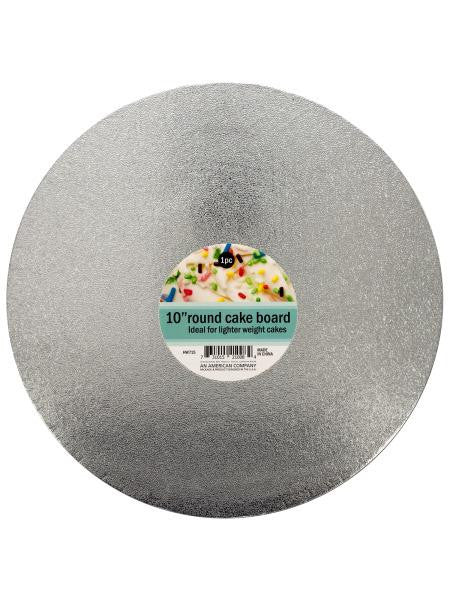 Round Cake Board (Available in a pack of 24)