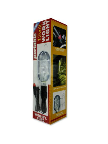12V Work Light With Bulb (Available in a pack of 3)