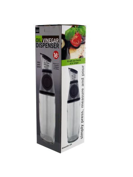 Oil & Vinegar Dispenser with Easy-Pour Spout (Available in a pack of 1)