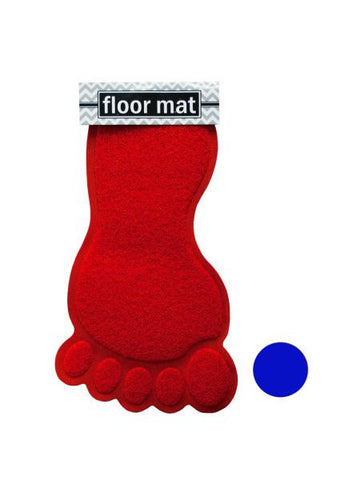 Foot Shaped Absorbent Non-Slip Bath Mat (Available in a pack of 4)
