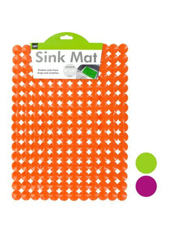 Decorative Rectangular Sink Mat (Available in a pack of 4)