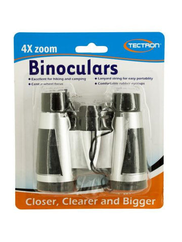 4X Zoom Binoculars (Available in a pack of 12)