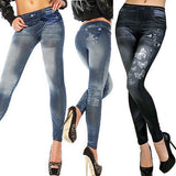 NEW Sexy Women Jean Skinny Jeggings Stretchy Slim Leggings Fashion Skinny Pants