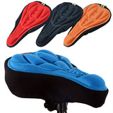 Unusual Silicone Cycling Bicycle Bike Saddle Breathable Gel Cushion Soft Pad Seat Cover 91JC