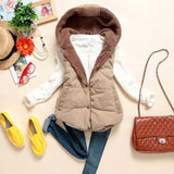 Hot New Fashion Hooded Vest