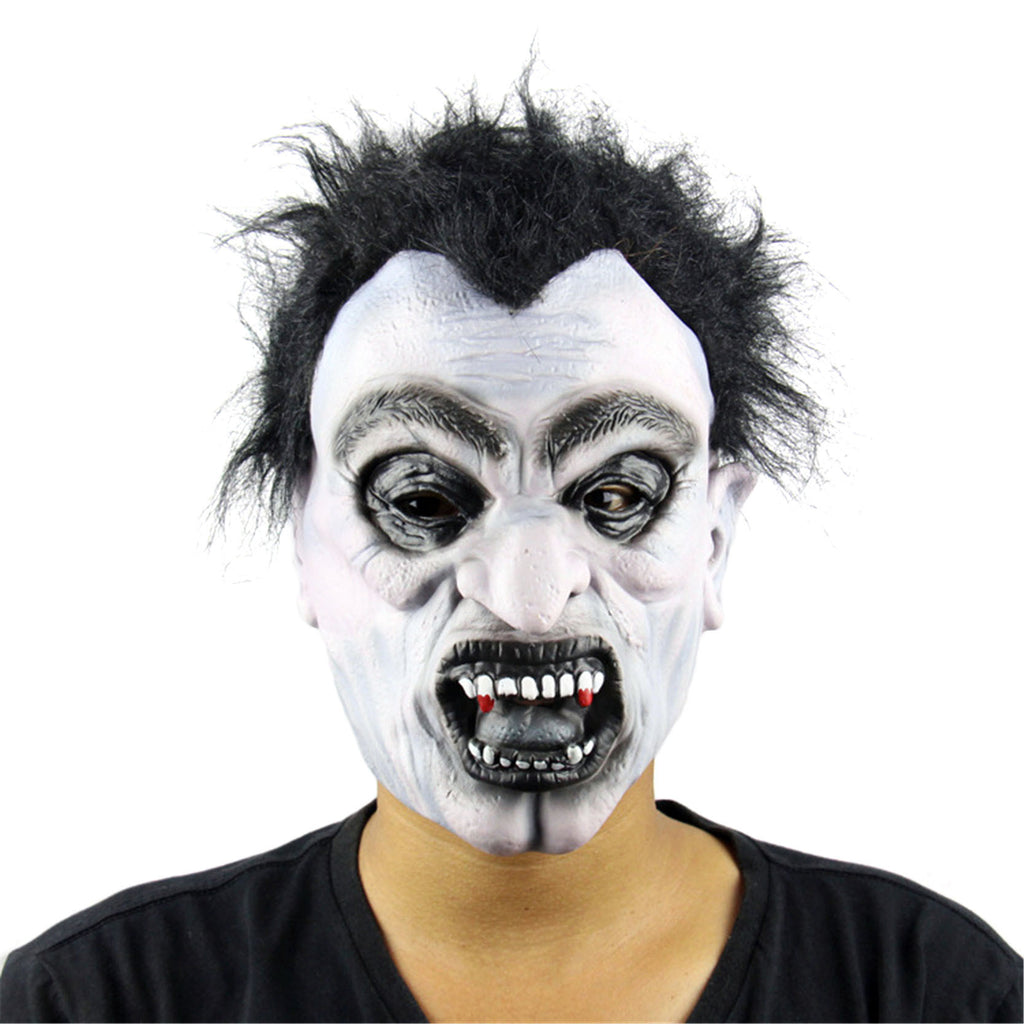 2016 Fun Scary Mask Clown Latex Masks Vampire Cosplay Costume For Party Halloween Fool's Day