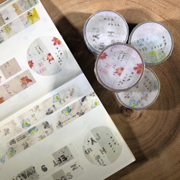 YOHAKU Washi Tape, Exhibition Limited | YOHAKU原創和紙膠帶, 紙博限定