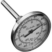 THERMOMETER 4 INCH STEM 1/2 INCH CONNECTION