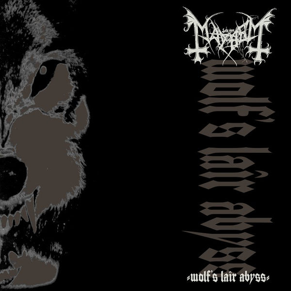 MAYHEM - Wolf's Lair Abyss LP (BLACK)