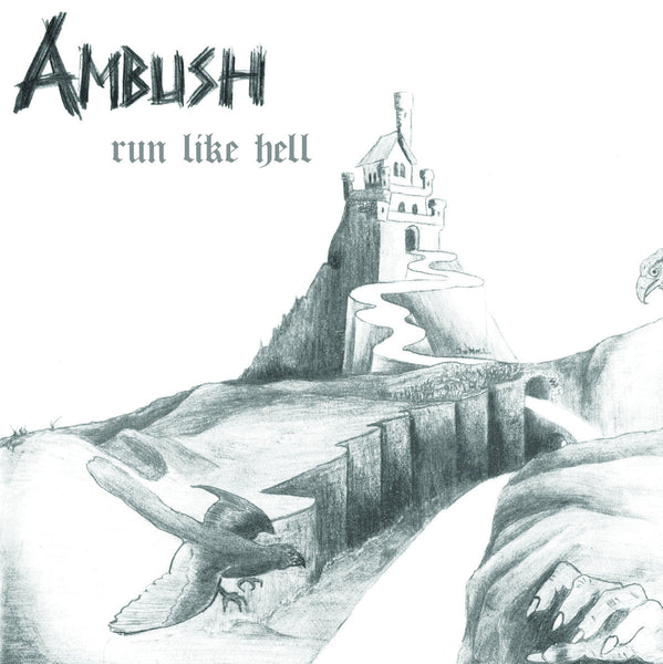 AMBUSH - Run Like Hell CD