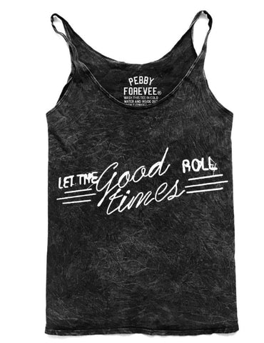 Let the Good Times Roll Mineral Tank - Nickel and Birch