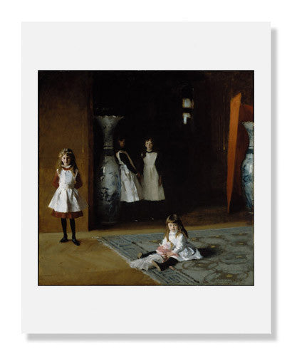 MFA Prints archival replica print of John Singer Sargent, The Daughters of Edward Darley Boit from the Museum of Fine Arts, Boston collection.