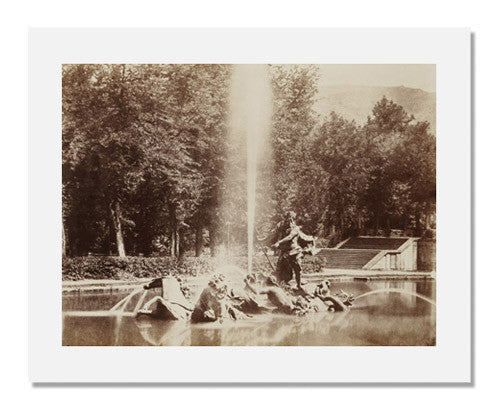 MFA Prints archival replica print of Charles Clifford, Fountain in the Gardens of La Granja from the Museum of Fine Arts, Boston collection.
