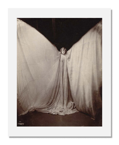 MFA Prints archival replica print of Benjamin Joseph Falk, Portrait of Loie Fuller as a Butterfly from the Museum of Fine Arts, Boston collection.